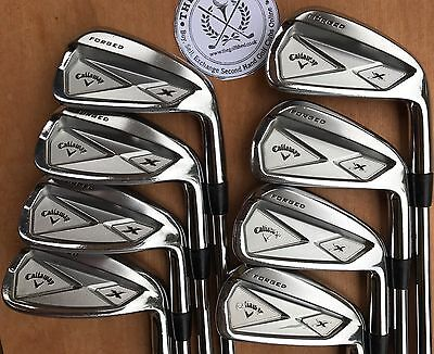Callaway X FORGED 2013 Irons - 3 - PW - PROJECT X 6.0 RIFLE SHAFTS 1/2 INCH LONG