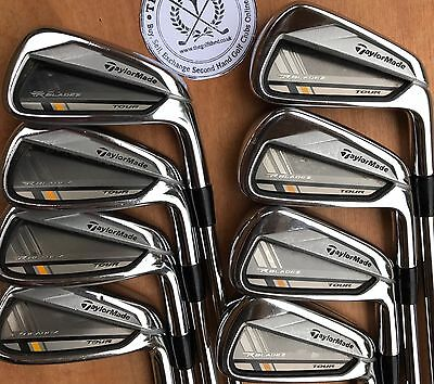 TaylorMade ROCKETBLADEZ TOUR Irons 3 - PW  - DYNAMIC GOLD X100 SL SHAFTS