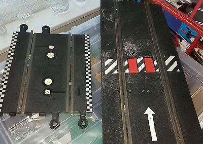 scalextric track. counter.. and flip section