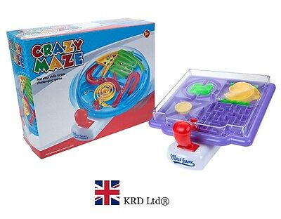 BALL MAZE GAMES Bearing 3D Puzzle Labyrinth Game Christmas Gift Stocking Filler