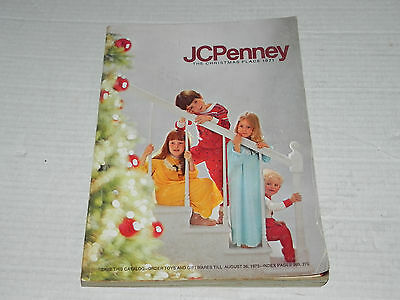JC Penny Christmas Catalog 1971 Fisher Price Typewriter Records Toys Clothes