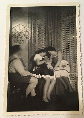 PHOTO ANCIENNE - VINTAGE SNAPSHOT - Sexy Woman - Funny