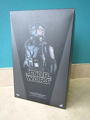 New Star Wars Hot Toys First Order Tie Pilot Mms324 Force Awakens Bust Figure !!