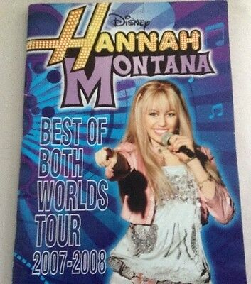 Hannah Montana / Miley Cyrus 2007-2008 Best of Both Worlds Tour