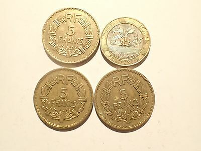 PIECE - lot 4 pieces FRANCE - R944