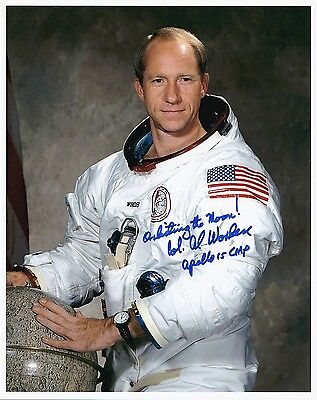 SALE !!   Apollo 15 NASA Astronaut Al Worden Signed Photo