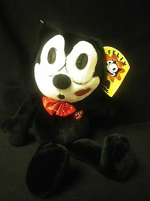 "New 16"" Plush Felix the Cat with Kiss"