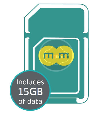 EE 4G Pay As You Go PAYG Trio SIM Card Preloaded With 10GB Data. For 30 Days
