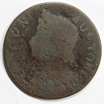 1786 RR-11 R-4 Vermont Colonial Copper Coin