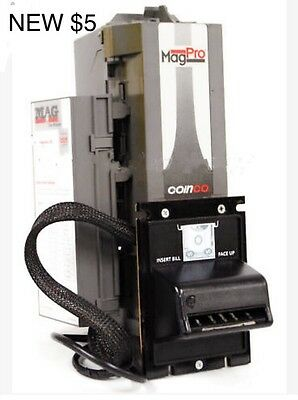 Coinco MAG50B PRO Bill Validator Acceptor New $5, $10, $20 Laundromat Changer