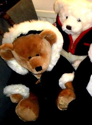 COLLECTOR'S HARRODS XMAS BEARS ~ click on - SELECT - to browse or order