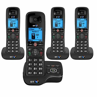 BT 6600 Quad Digital Cordless Answerphone With Nuisance Call Blocking