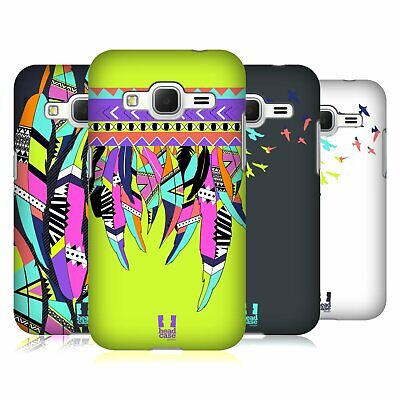 Head Case Designs Neon Feathers Hard Back Case For Samsung Galaxy Core Prime