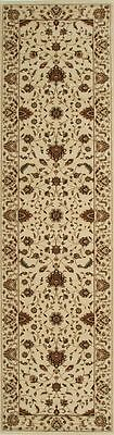 Hall Runner Rug Hallway Carpet Mat Persian Traditional Design Cream 4 Meter Long