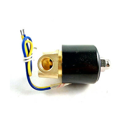 """Solenoid Valve for Train Water Air Pipeline 12V DC 1/4"""" High Quality"""