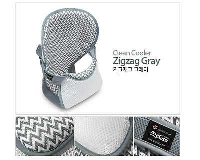 Manito Baby sling from Cool Pad 3D Mash controls cover_zigzag gray