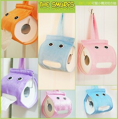 Novelty Hanging Tissue Holder Wall-mounted Cloth Toilet Paper Container Box DC