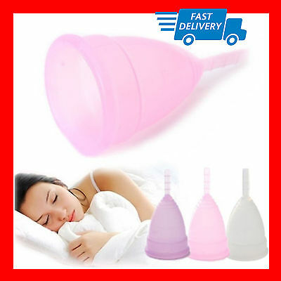Menstrual Period Moon Cups Soft Medical Silicone Tampon Pads Replacement