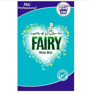 Fairy Non-Bio Washing Powder Laundry Cleaning Detergent 130 Wash