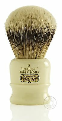 Simpsons Chubby Super Badger Shaving Brush - 3