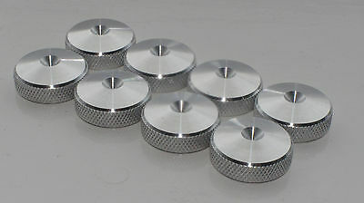 - British Made - XLARGE CNC Speaker spike pads shoes feet 20mm DIA - SeT of 8