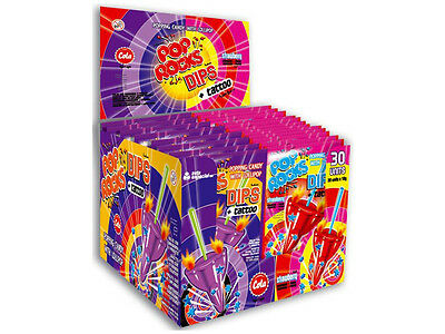 Pop Rocks Candy with Tattoo - Cola & Strawberry Flavour - 1 x Individual Packet