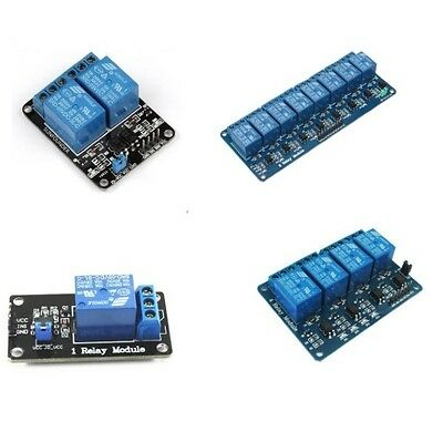 1PCS 5V 1/2/4/8 Channel Relay Board Module Optocoupler LED for Arduino PiC ARM L