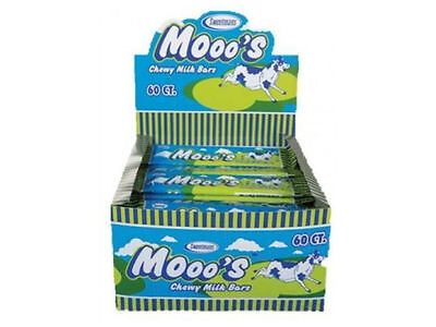 Mooo's Chewy Delicious and Tasty Milk Flavour Bar - 1 Bar