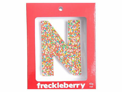 Letter N Chocolate Freckle Letter New Great Unique Gift Present Birthday