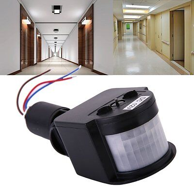 Outdoor 12M PIR12V/PIR85-265V Security PIR Infrared Motion Sensor Detector D#