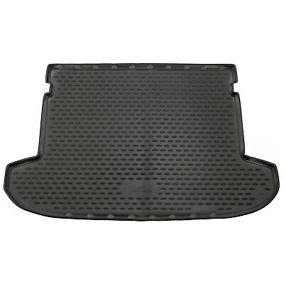 Hyundai Tucson 15-17 Rubber Boot Liner Tailored Fitted Black Floor Mat Protector