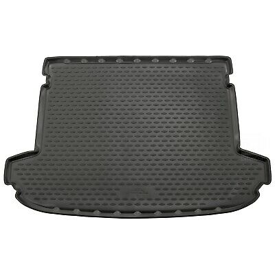 Kia Sportage 16-17 Rubber Boot Liner Tailored Fitted Black Floor Mat Protector