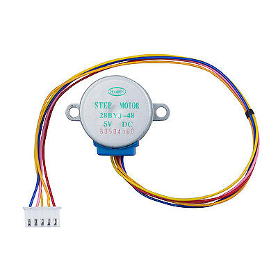 28BYJ-48 28BYJ48 DC 5V 4-Phase 5-Wire Stepper Motor with ULN2003 Driver Board FK