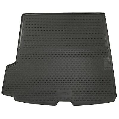 Volvo XC90 15-17 Rubber Boot Liner Tailored Fitted Black Long Mat Protector