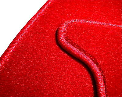 MOQUETTE VEL. ROUGE POUR MG MGB Roadster LHD + RHD