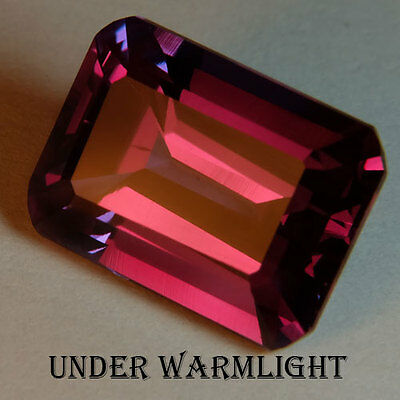 14.50ct.AWESOME RUSSIAN COLOR CHANGE ALEXANDRITE OCT GEMSTONE