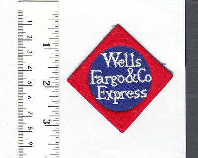 Wells Fargo & Co. Express Embroidered Patch.....NICE...#203R4