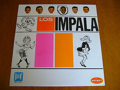 LOS IMPALA s/t (Velvet-Hit AM 12 014 - Spain 1966) VENEZUELA GARAGE BEAT ORIG LP