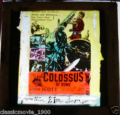 Colossus Of Rome Glass Slide