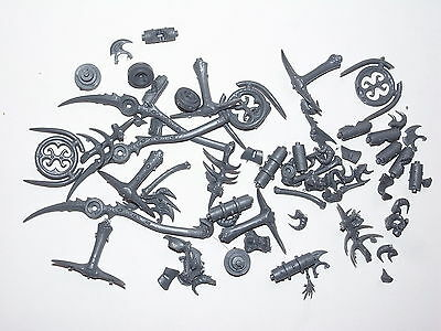 Chaos Daemons Seeker Chariot/hellflayer Assorted Parts. 70 Items. Cr