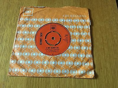 """Johnny Cash - A Boy Named Sue - 1969 7"""" Ex - Buy 3 7""""s & Pay Postage For Just 1!"""