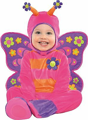 Toddlers Babies Girls Flutterby Butterfly Bug Animal Fancy Dress Costume Romper