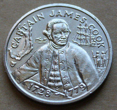 Bicentennial Medal - Captain James Cook  200 Years