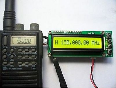 0.1~1100 MHz  Frequency Counter Tester Measurement For Ham Radio