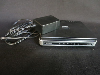 D-Link Model DVG-5102S Gateway VoIP Telephone Adapter with Charger