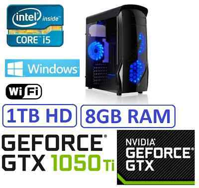 Ordenador Sobremesa PC i5 8GB RAM 1 TB HD, WIFI USB 3.0, HDMI 1756 MB, WINDOWS