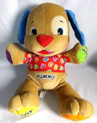 Fisher Price Laugh And Learn Puppy Dog Stuffed Animal Interactive Talks Sings