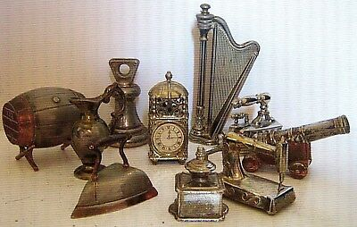 COLLECTABLE MINI BRASS & ALLOY SETS 1960/80 ~ click on SELECT to browse / order