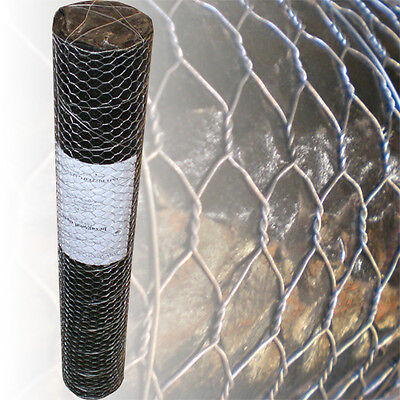 25m Wire Netting 80cm 13mm Chicken Rabbit Galvanised Garden Fence Mesh Net