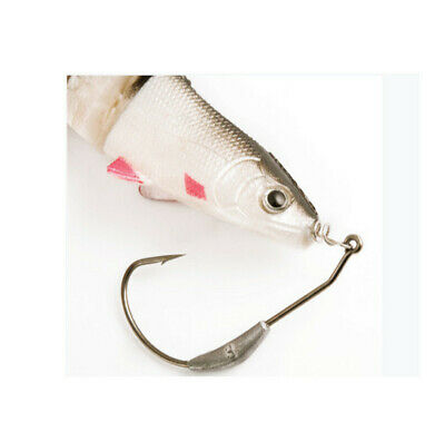 Rapture Spring Lock Weighted Worm/soft Plastic Hooks 1/0 To 7/0